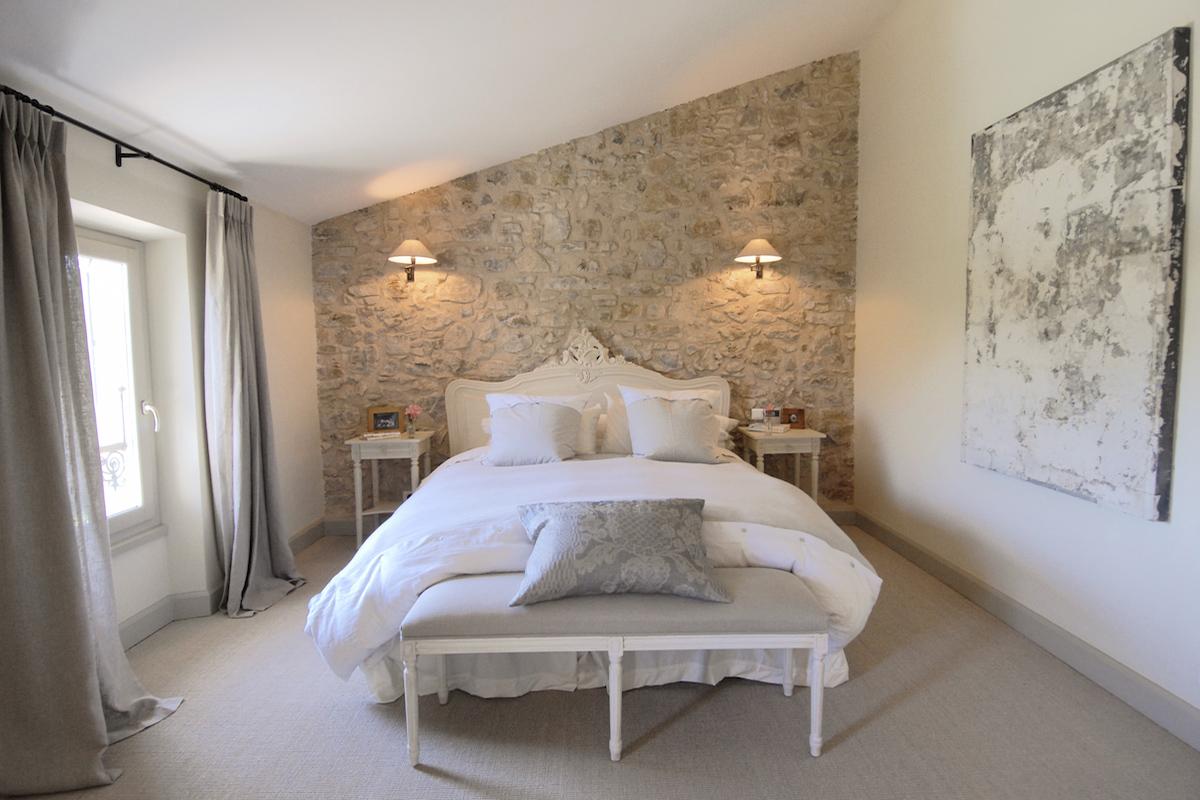 le charme d un mas de l arriere pays bernard fauroux architecte dplg. Black Bedroom Furniture Sets. Home Design Ideas