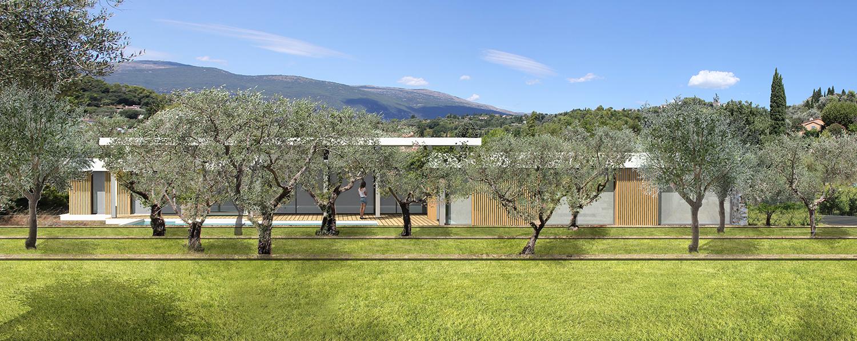 permis villa mouans sartoux bernard fauroux architecte dplg. Black Bedroom Furniture Sets. Home Design Ideas
