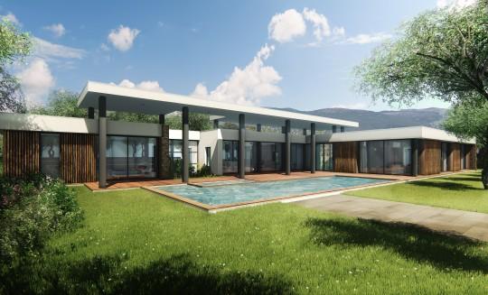 portfolio bernard fauroux architecte dplg. Black Bedroom Furniture Sets. Home Design Ideas